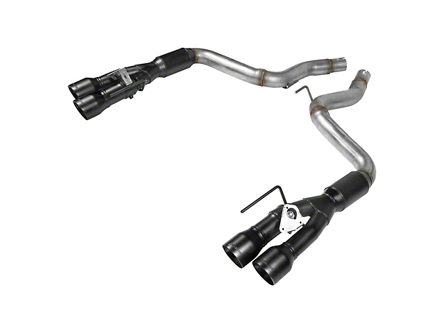 Flowmaster Outlaw Axle-Back Exhaust w/ Black Tips (18-19 GT w/ Active Exhaust)