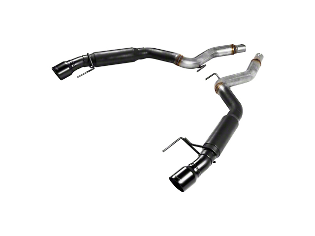 Flowmaster Outlaw Series Axle-Back Exhaust w/ Black Tips (15-17 GT)