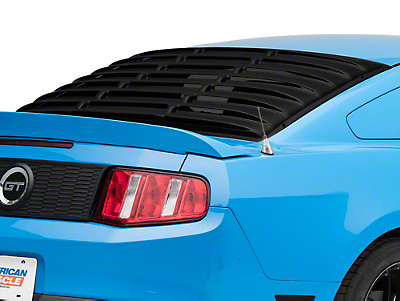 SpeedForm ABS Rear Window Louvers (05-14 Coupe)