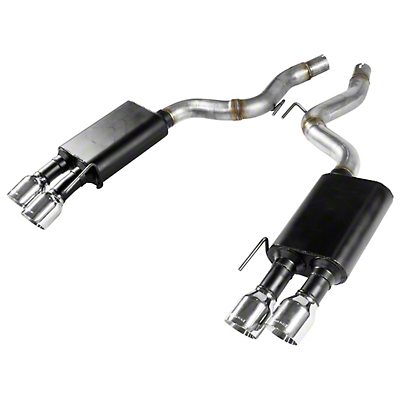 Flowmaster American Thunder Axle-Back Exhaust (2018 GT w/o Active Exhaust)