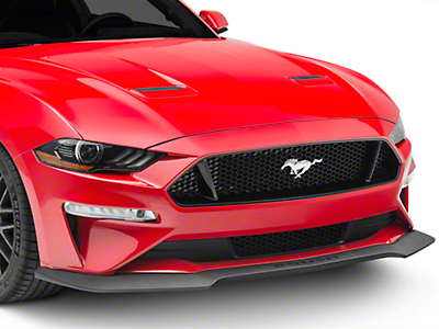 Roush Chin Spoiler & Wheel Shroud 3-Piece Aero Kit (2018 GT, EcoBoost)