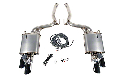 Roush Active Lite iO Axle-Back Exhaust (18-19 GT w/o Active Exhaust)