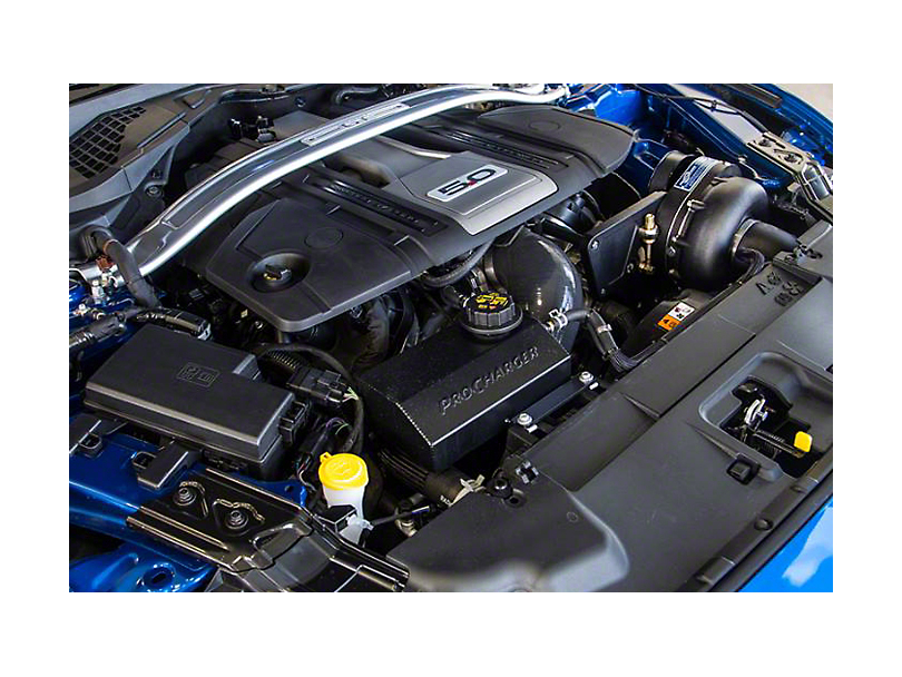 Procharger Stage II Intercooled Supercharger Kit; Satin Finish (18-20 GT)