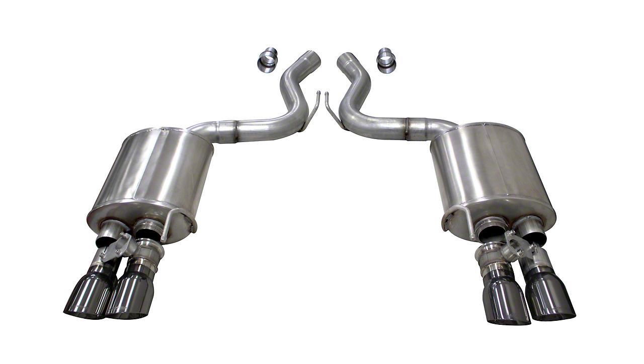 Corsa Sport Axle Back Exhaust w/ Gunmetal Tips (2018 GT Fastback w/ Active Exhaust)