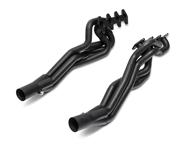 SR Performance 1-3/4-Inch Long Tube Headers; Black (05-10 GT)