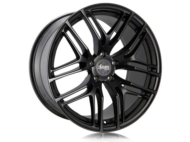 Advanti Bello Matte Black w/ Machined Undercut Wheel - 19x9.5 - Rear Only (15-20 GT, EcoBoost, V6)