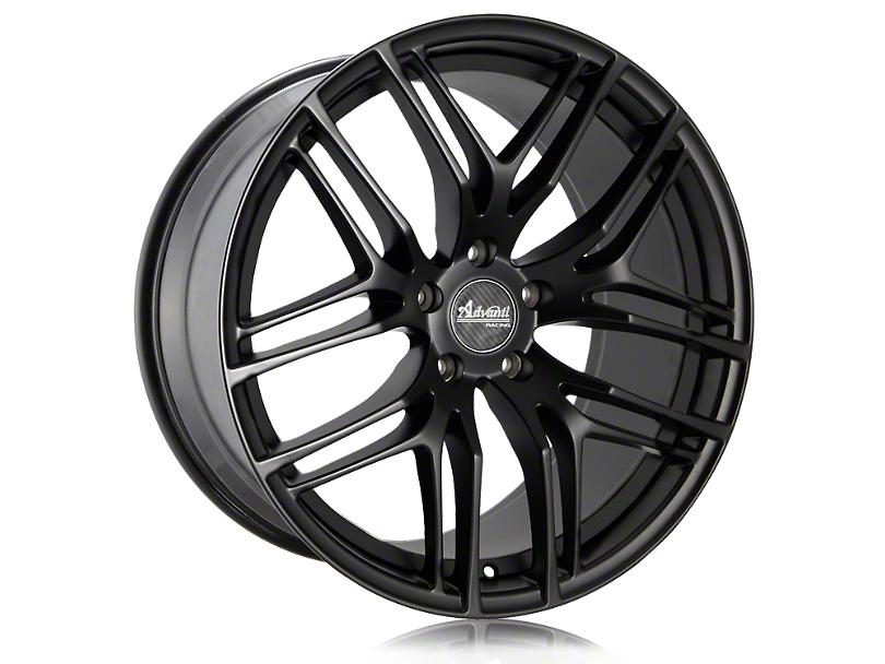 Advanti Bello Matte Black w/ Machined Undercut Wheel - 20x10 - Rear Only (15-19 GT, EcoBoost, V6)