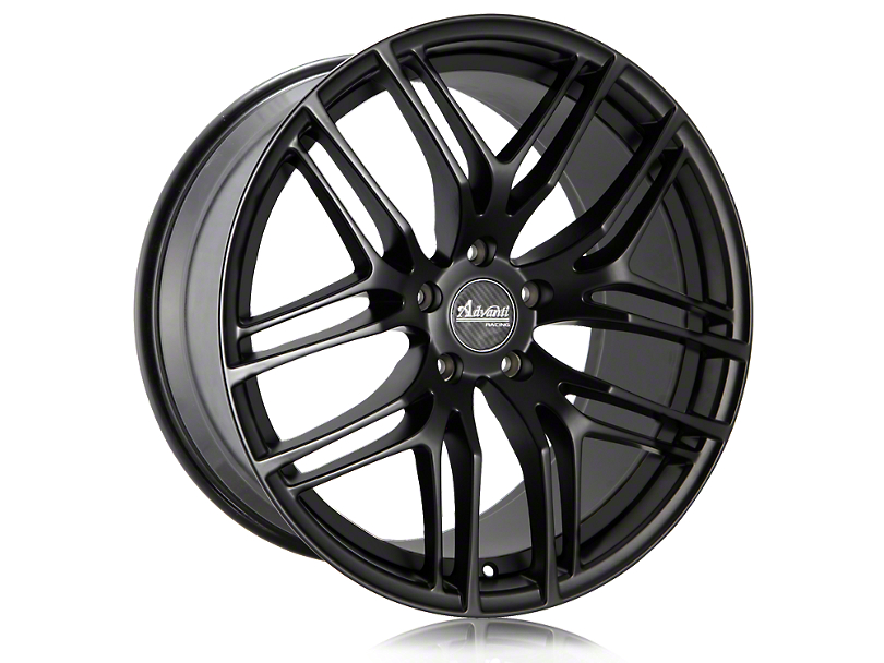 Advanti Bello Matte Black w/ Machined Undercut Wheel - 20x9 (15-20 GT, EcoBoost, V6)