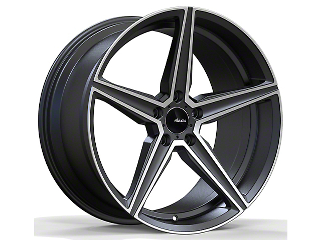 Advanti Cammino Matte Gunmetal with Machined Face Wheel; 20x9 (10-14 All)