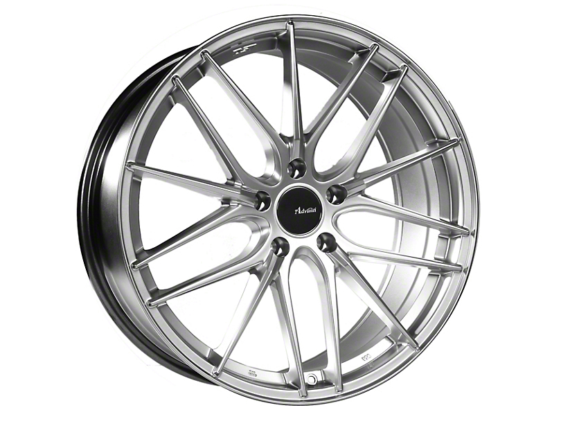 Advanti Catalan Hyper Silver Wheel; Rear Only; 19x9.5 (10-14 All)