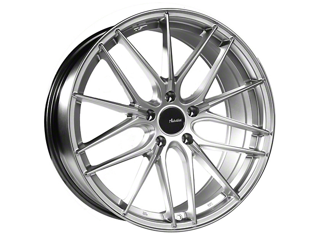Advanti Catalan Hyper Silver Wheel; 20x8.5 (15-20 GT, EcoBoost, V6)