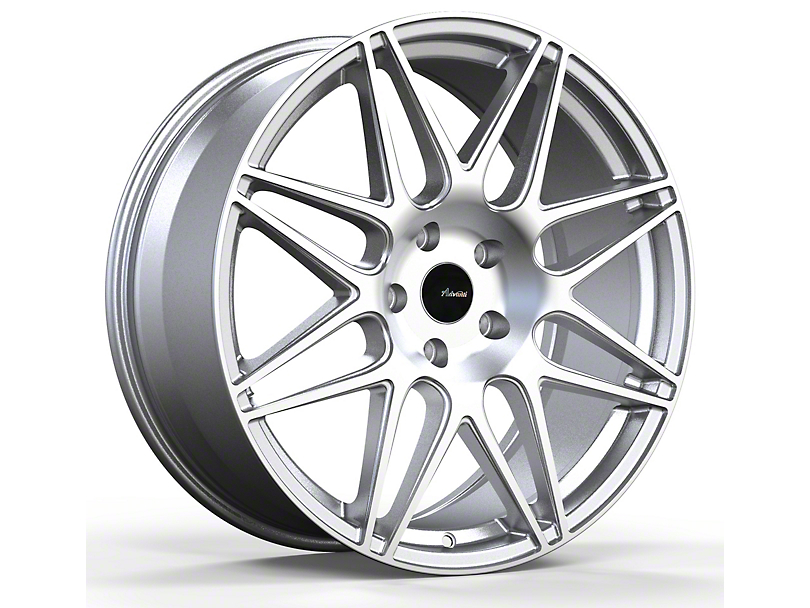 Advanti Classe Silver with Machined Face Wheel; Rear Only; 19x9.5 (05-09 All)