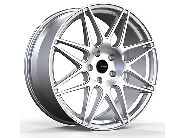 Advanti Classe Silver with Machined Face Wheel; Rear Only; 20x10 (05-09 All)