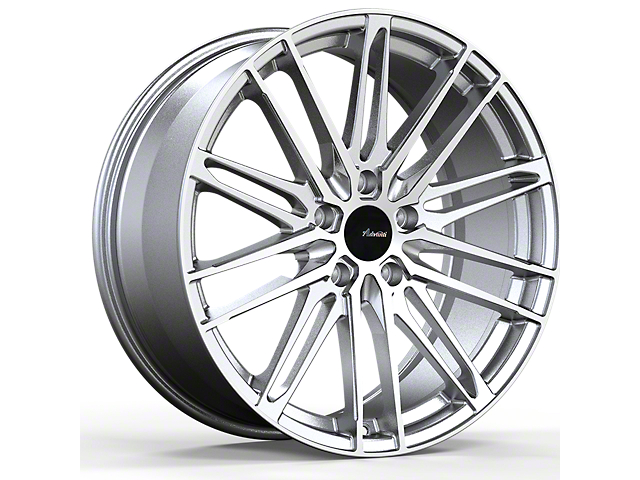 Advanti Diviso Silver with Machined Face Wheel; 18x8 (15-20 EcoBoost, V6)