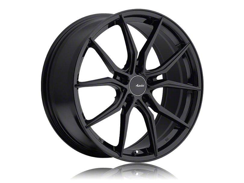 Advanti Hybris Gloss Black Wheel; Rear Only; 19x9.5 (05-09 All)