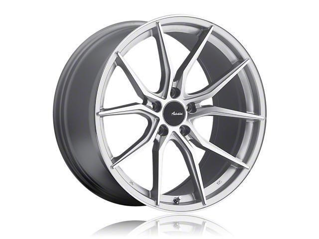 Advanti Hybris Silver Machined Wheel; 17x7.5 (15-20 EcoBoost, V6)