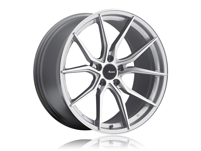 Advanti Hybris Silver Machined Wheel; 20x8.5 (15-20 EcoBoost, V6)