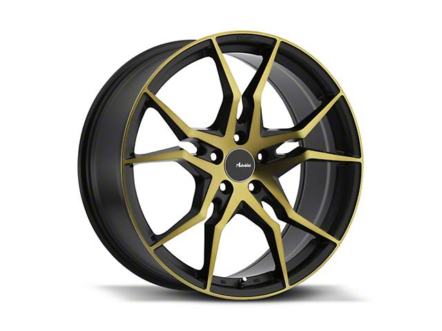 Advanti Hydra Black Machined with Bronze Tint Wheel; Rear Only; 19x9.5 (05-09 All)