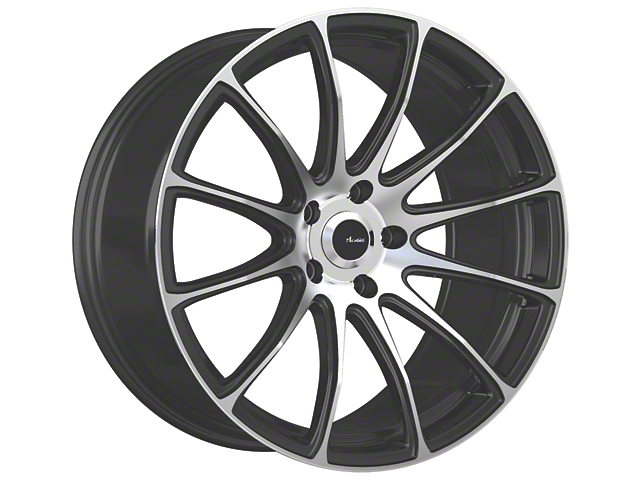 Advanti Svelto Matte Black Machined Wheel; 18x8 (15-20 EcoBoost, V6)