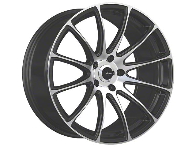 Advanti Svelto Matte Black Machined Wheel; 20x9 (15-20 GT, EcoBoost, V6)