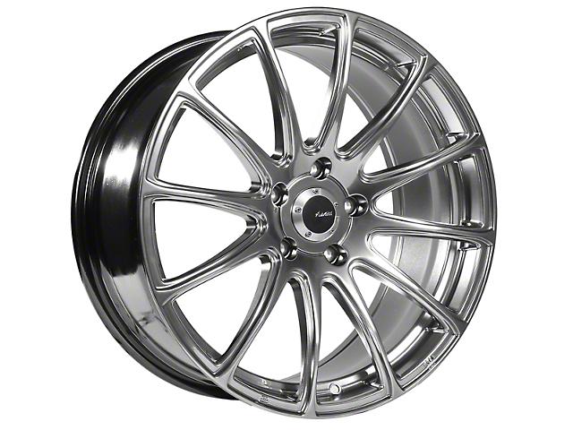 Advanti Svelto Titanium Wheel; 19x8.5 (15-20 GT, EcoBoost, V6)