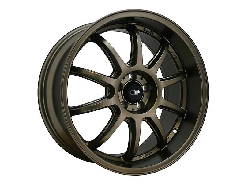 HD Wheels Clutch All Satin Bronze Wheel - 18x9 (15-20 EcoBoost, V6)