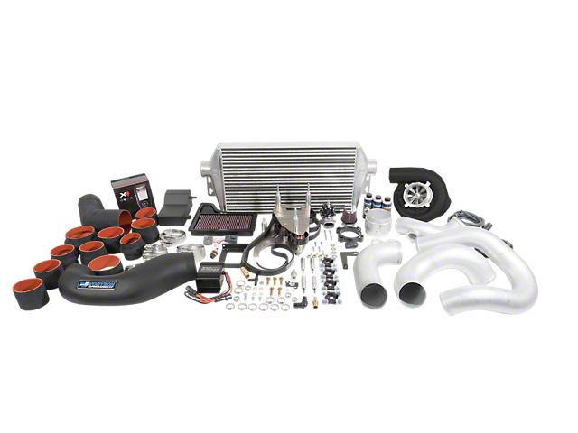 Vortech V-3 JT Supercharger Tuner Kit; Black Finish (18-19 GT)