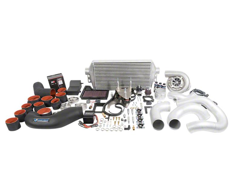 Vortech V-3 JT Supercharger Tuner Kit - Polished (18-19 GT)