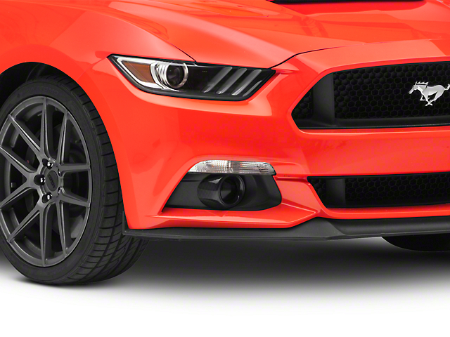 SpeedForm Fog Light Trim; Carbon Fiber Style (15-17 GT, EcoBoost, V6)