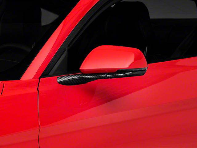 SpeedForm Carbon Fiber Style Door Mirror Trim (15-20 All)