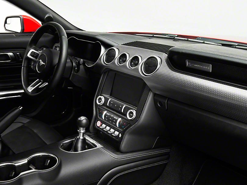 SpeedForm Carbon Fiber Style Center Dash Trim (15-19 All)
