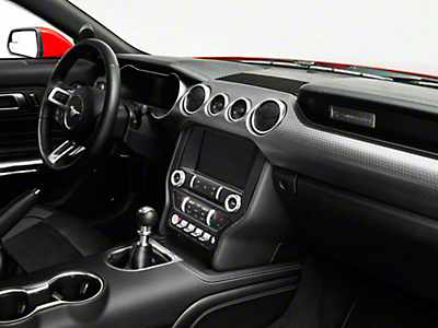 SpeedForm Carbon Fiber Style Center Dash Trim (15-19 All)