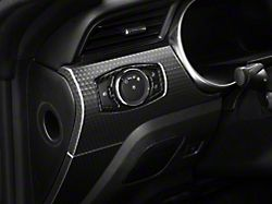 SpeedForm Carbon Fiber Style Headlight Switch Trim (15-20 All)