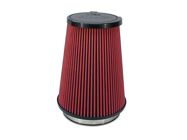 Airaid Direct Fit Replacement Air Filter; Red SynthaMax Dry Filter (10-14 GT500)