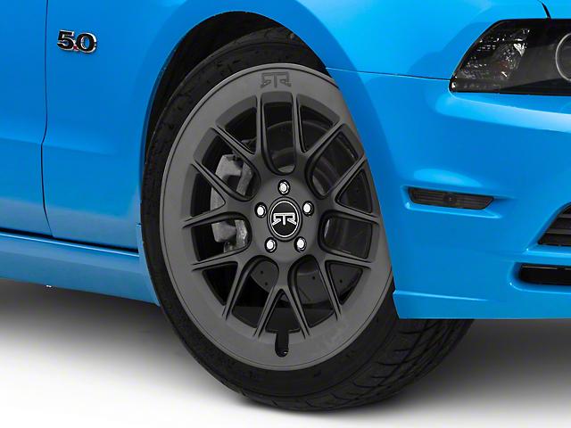 RTR Aero 7 Satin Charcoal Wheel; 20x9.5 (10-14 All)