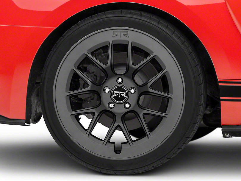 RTR Aero 7 Satin Charcoal Wheel - 20x10.5 - Rear Only (15-19 All)
