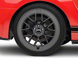 RTR Aero 7 Satin Charcoal Wheel; Rear Only; 20x10.5 (15-20 GT, EcoBoost, V6)