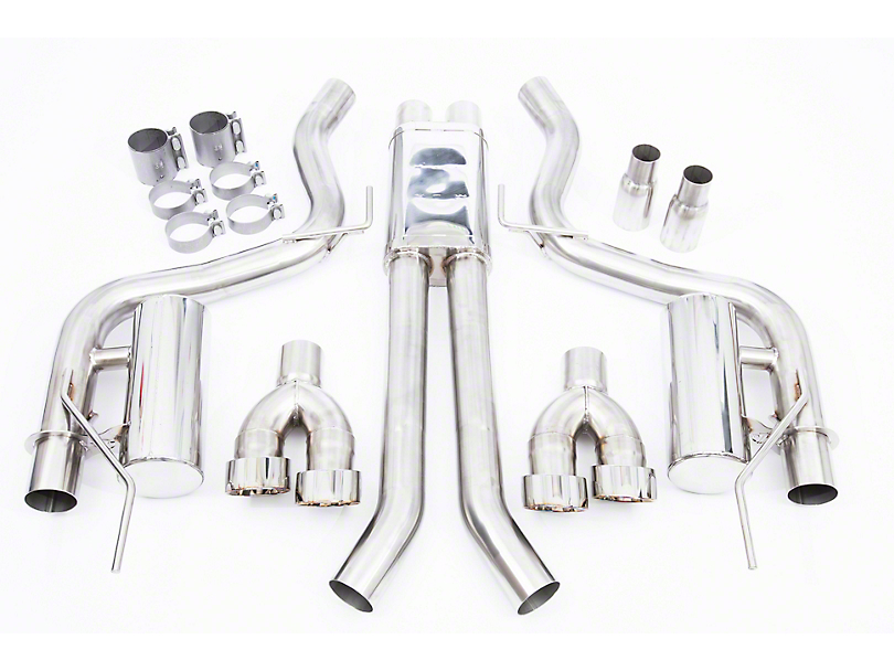 Thermal R&D Cat-Back Exhaust (2018 GT Fastback w/o Active Exhaust)