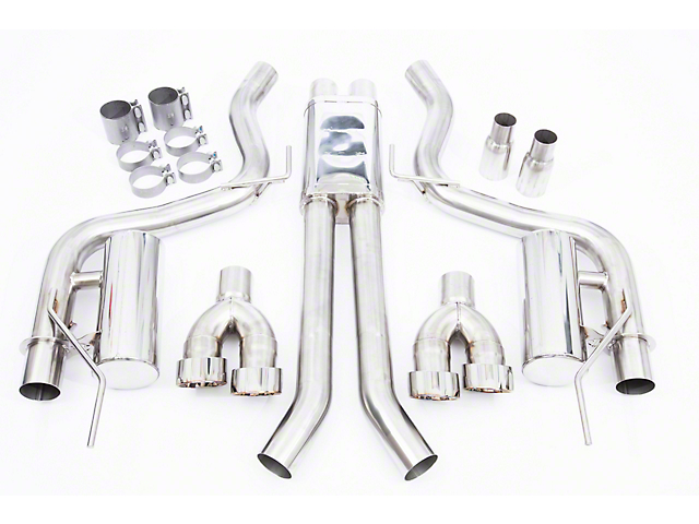 Cat-Back Exhaust (18-19 GT Fastback w/o Active Exhaust)
