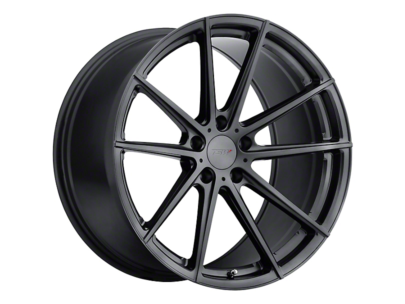 TSW Bathurst Gloss Gunmetal Wheel; Rear Only; 19x10.5 (10-14 All)