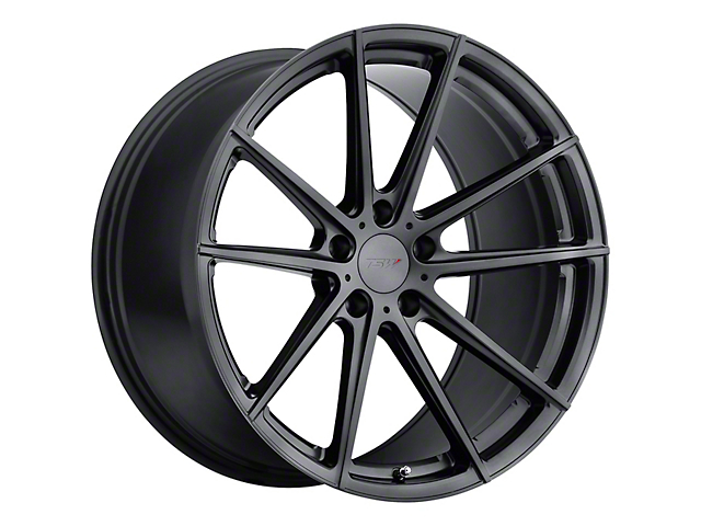 TSW Bathurst Gloss Gunmetal Wheel; Rear Only; 19x10.5 (05-09 All)