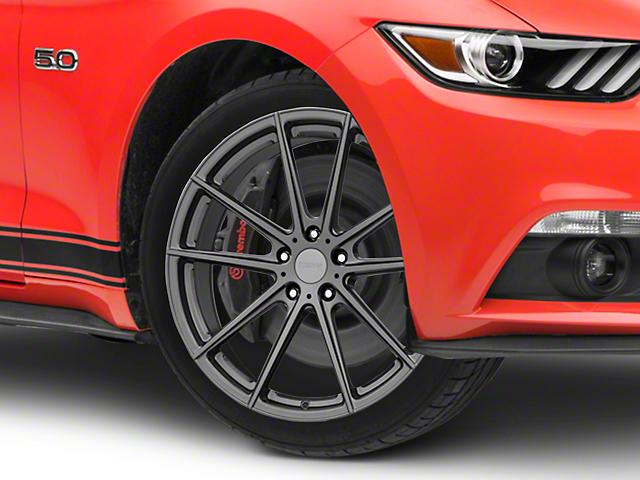 TSW Bathurst Gloss Gunmetal Wheel - 19x9.5 (15-20 GT, EcoBoost, V6)