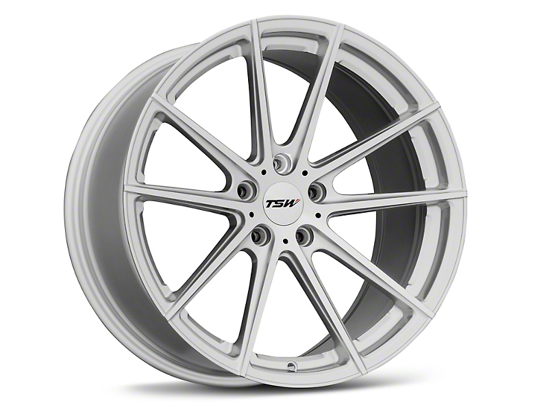 TSW Bathurst Silver Wheel; 19x9.5 (05-09 All)