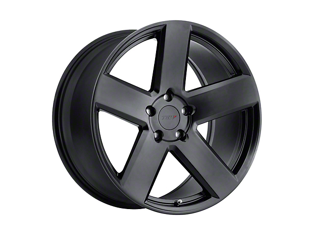 TSW Bristol Matte Black Wheel; 19x8.5 (10-14 All)