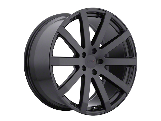 TSW Brooklands Matte Black Wheel; 19x9.5 (10-14 All)