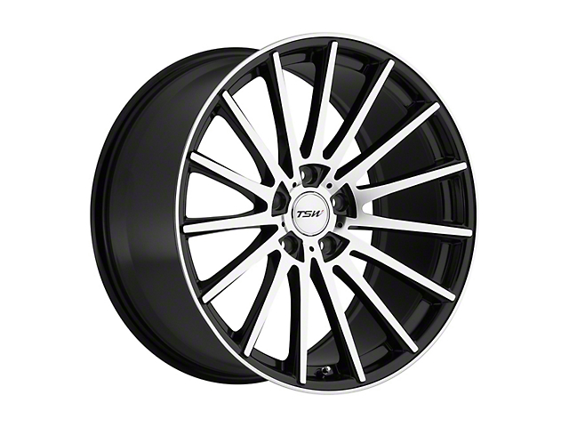 TSW Chicane Gloss Black with Mirror Cut Face Wheel; 20x8.5 (05-09 All)