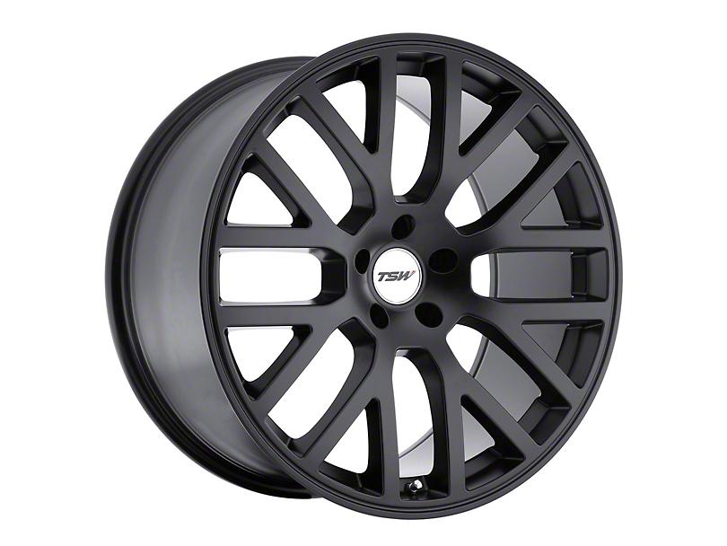 TSW Donington Matte Black Wheel - 19x8 (05-09 All)