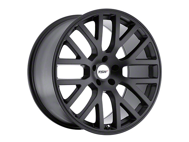 TSW Donington Matte Black Wheel; 19x9.5 (05-09 All)