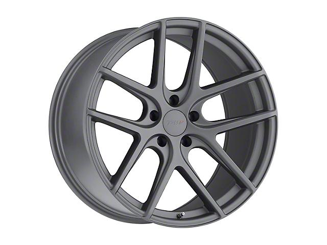 TSW Geneva Matte Gunmetal Wheel; Rear Only; 20x9.5 (15-20 GT, EcoBoost, V6)