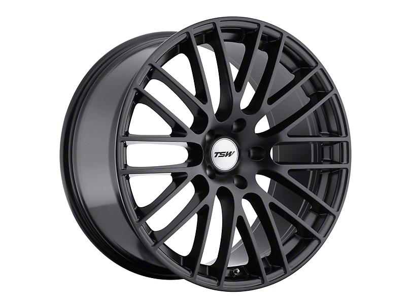 TSW Max Matte Black Wheel; 20x9 (10-14 All)